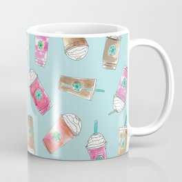 Coffee Crazy Toss in Blueberry Coffee Mug