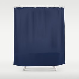 Dark Sargasso Blue 2018 Fall Winter Color Trends Shower Curtain