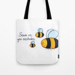 Bees!!! Tote Bag