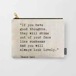 Roald Dahl Lovely Quote Carry-All Pouch