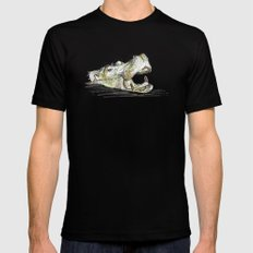 Hippo Black MEDIUM Mens Fitted Tee