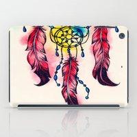 dreamcatcher iPad Cases featuring Dreamcatcher by goyye