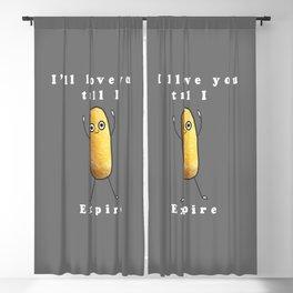 Twinkie Love Blackout Curtain