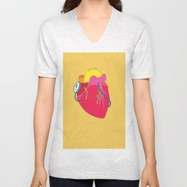 Countdown Heart Unisex V-Neck