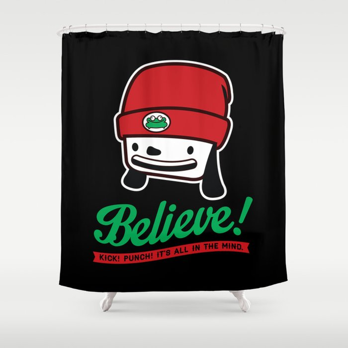 Parappa The Rapper Shower Curtain