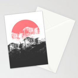 A new morning's sun Stationery Cards