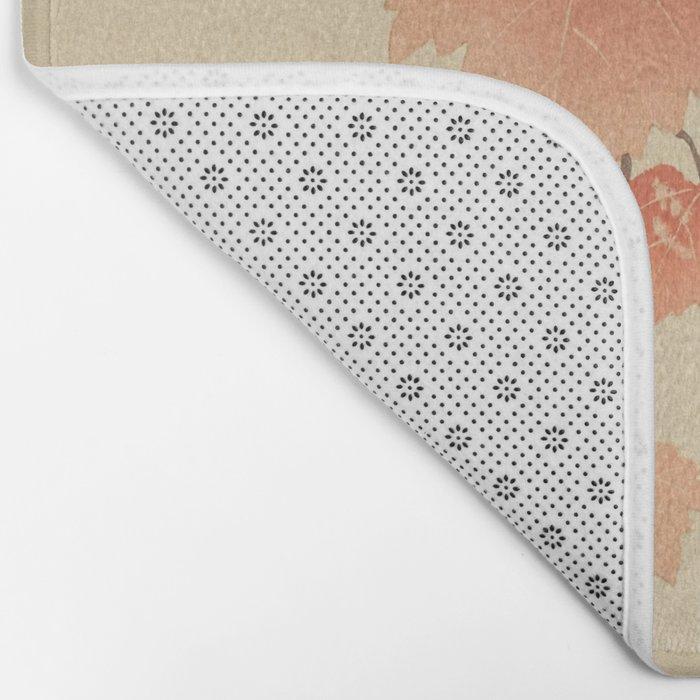 Ohara Koson - Japanese Bird Blockprint Bath Mat