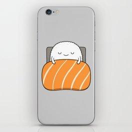 sleepy sushi iPhone Skin