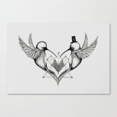 'Humming Birds' Canvas Print