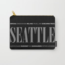 Seattle Grunge Carry-All Pouch