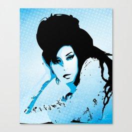 Love Amy - Valerie - Pop Art Canvas Print