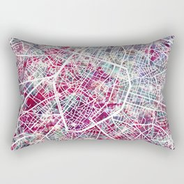 Brussels Map Rectangular Pillow