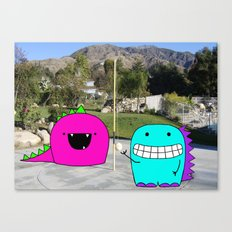 Monster Tetherball Canvas Print