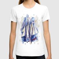 sail T-shirts featuring Sail Movements by taiche
