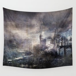 Dracula's Castle Wall Tapestry