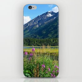 July at Tern Lake - II iPhone Skin