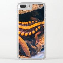 Golden Salamander Clear iPhone Case