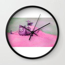 Tasty Walks Wall Clock