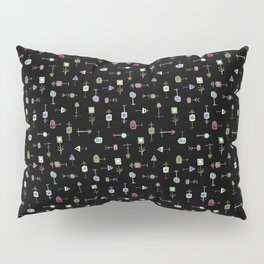 Thingamabobs (black) Pillow Sham
