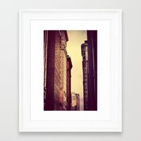 inception Framed Art Prints featuring Inception by Caleb Troy