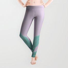Lavender Green Agave Vibes #1 #tropical #decor #art #society6 Leggings