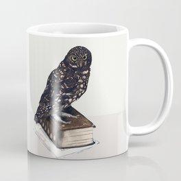 Reading with Owl Coffee Mug