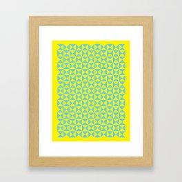 CMY Poster Framed Art Print