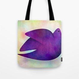 watercolor bird  Tote Bag
