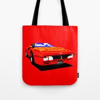 ferrari Tote Bags featuring FERRARI by haydiroket