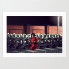 This is Thriller Art Print