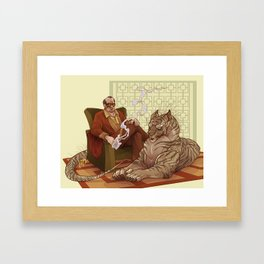 Eater of Delinquents  Framed Art Print