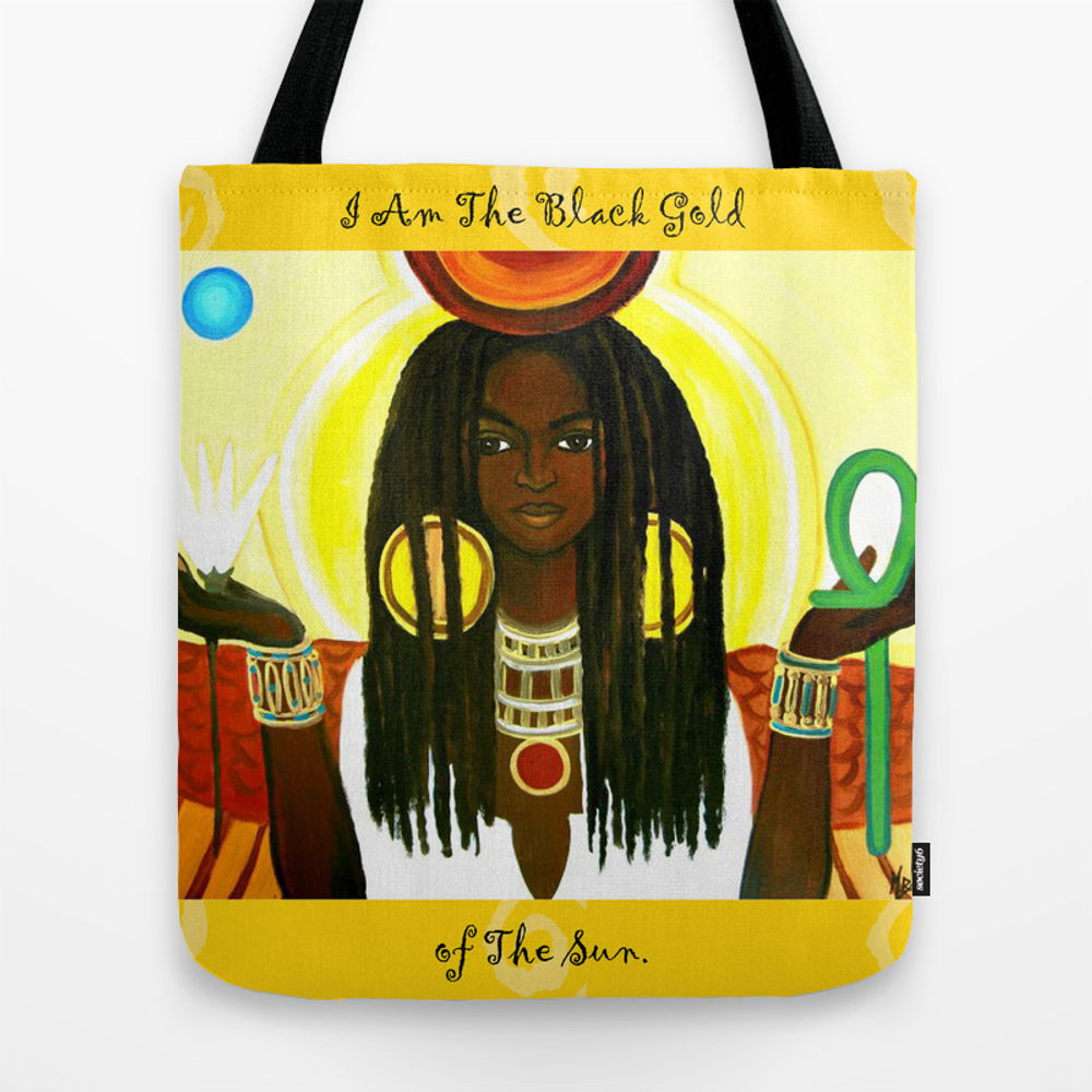 Blue Rays Tote Bag by Yeslioness TBG8707586