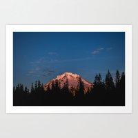 Mount Hood Art Print