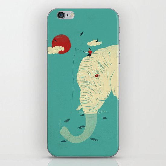Fishin' Buddy iPhone & iPod Skin
