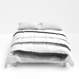 Yves et moi #1 Black Comforters