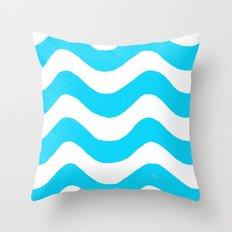 wwaavveess Throw Pillow
