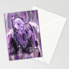 Bear King Resting Stationery Cards