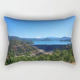 Shasta Lake View Rectangular Pillow