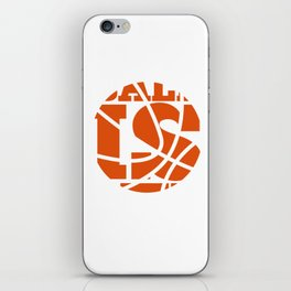 Ball is Life Graphic Basketball Sporting T-shirt iPhone Skin