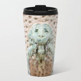 Lion Motif Travel Mug