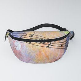 Abstract MUSIC Fanny Pack
