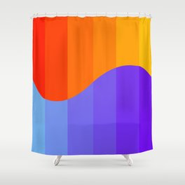 Sun & Sea Shower Curtain