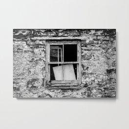 Wood, Glass and Stone Metal Print