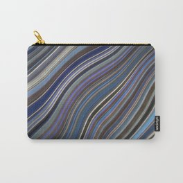 Mild Wavy Lines IV Carry-All Pouch