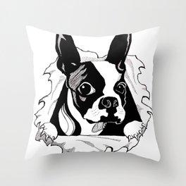 Boston Ripper Throw Pillow