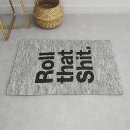 Roll that Shit - light version Rug