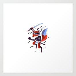 Fox Byte Art Print