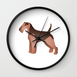 Welsh Terrier Wall Clock