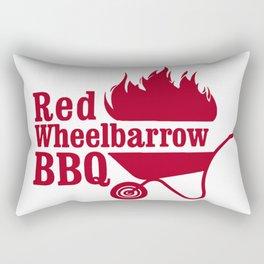 Mr. Robot - Red Wheelbarrow Rectangular Pillow