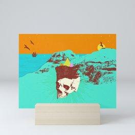 GHOST COAST Mini Art Print